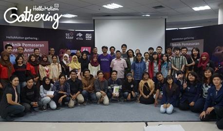 Belajar Memasarkan Karya di HelloMotion Gathering Malang!